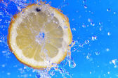Slice of lemon — Stock Photo