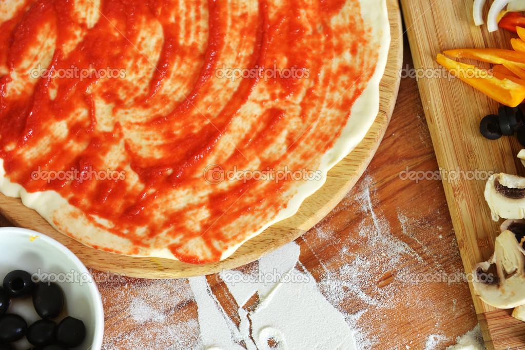 Delicious Pizza Delicious Pizza Dough Spices