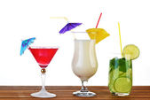 Cocktail drinks — Stock Photo
