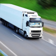Large truck on road — Stock Photo #50788687