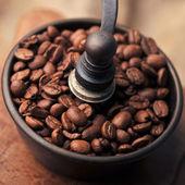 Manual coffee grinder — Stock Photo