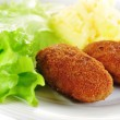 Roasted cutlets — Stock Photo