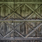 Wooden gates — Stock Photo #51284067