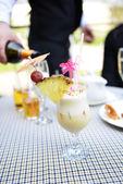 Cocktail no vidro — Foto Stock
