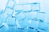 Cubes of  ice — Stock Photo