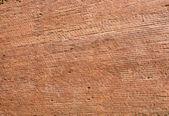 Vielle brique rouge mur closeup comme toile de fond — Photo