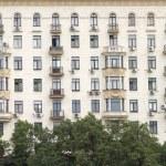 City residential building facade — Stock Photo #12229767