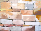 Painted stones background — Photo