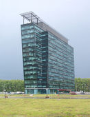 Moderne standalone gebouw — Stockfoto