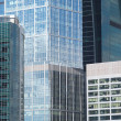 Modern office buildings on city closeup — Foto Stock #14437391