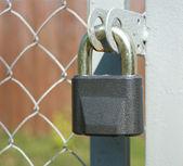 Cerradura del metal closeup — Foto de Stock