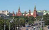 Moscow Kremlin view — Stock Photo