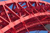 Part of strong bridge closeup — Stock Photo