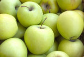 Many apples closeup — Stock Photo