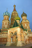 St. Basil's Cathedral on Red Square in Moscow Russia — Foto de Stock