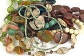 Fashion jewelry closeup — Stock Photo