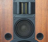 Loud speaker system details — Stock Photo