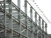 Industrielle hochbau — Stockfoto