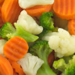 Vegetables isolated closeup — Stockfoto