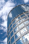 High modern office tower building — Stock Photo
