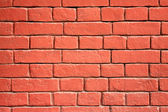 Red brick wall as background — Stock Photo