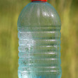 Stock Photo: Plastic bottle with ecologically pure drinking water