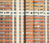 Novo edifício residencial moderno está pronto para viver — Fotografia Stock