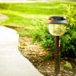 Stock Photo: Garden lamp