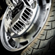 Motorbike wheel — Stock Photo #13757632