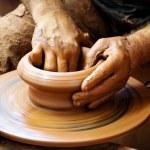 ������, ������: Potter hands