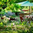 Stock Photo: Garden design