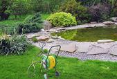 Garden hose — Stock Photo