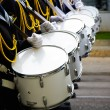Drummers millitary band — Stock Photo