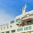 Luxury cruise ship — Stock Photo