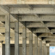 Reinforced concrete structure of building — Stock Photo #15345561