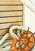 Nautical background — Stock Photo