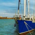 Nautik Landschaft mit yacht — Stockfoto #34720587