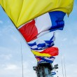 Nautical flags  — Stock Photo