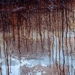 Stock Photo: Paint drips background