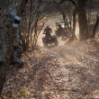 Quad bike raicing — Stock Photo