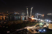 Night view of Vladivostok — Stockfoto