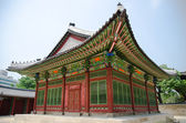 Gyeongbokgung palace in Seoul, Korea — Stock Photo