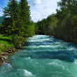 Mountain river Kucherla 2 — Stock Photo