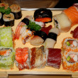 Sushi, Japanese food — Stock Photo