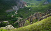 Yakutia, wild mountain landscape — Stock Photo