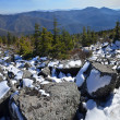 Royalty-Free Stock Photo: Panorama of winter mountains