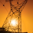 Electric pylon, energy power — Stock Photo