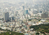 Seoul city of Korea — Stock Photo