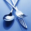 Set of silverware — Stock Photo #12022410
