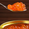 Canned caviar — Stock Photo #12096476